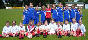 Mädchen Fußball 4. Altkreismeister Juni 2014