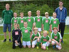 Mannschaft der Grundschule Renkenberge-Wippingen
