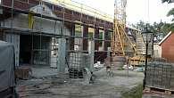 Baustelle Mehrzweckhalle
