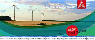 Zur Enercon-Homepage der IG Metall