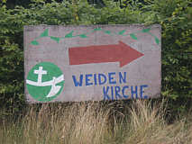 Weidenkapelle in Börger
