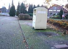 Ehemaliger Altglascontainerplatz in Wippingen