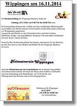 Flyer zum Wahlsonntag