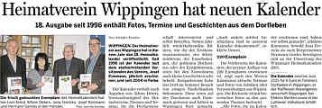 Bericht der Ems-Zeitung vom 27.12.2014