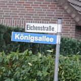 Neues Straßenschild für den König Gerd Klaas