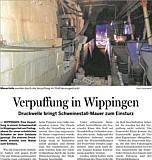 Verpuffung im Schweinestall - Ems-Zeitung vom 02.02.2015