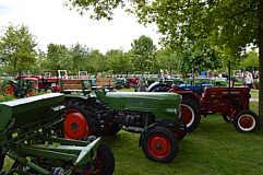 Oldtimerclub auf dem Mühlenfest