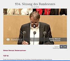 zur Homepage des Bundesrates