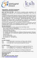 Ausschreibung für JULEICA-Ausbildung