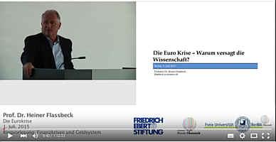 Zum Vortrag von Flassbeck über die Eurokrise