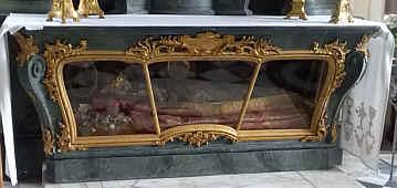 Fructuosus in der Schlosskirche in Clemenswerth