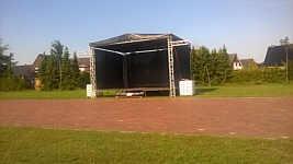 Bühne des Stoppelrock