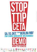 Zur Homepage zur TTIP-Demonstration am 10.10.2015