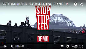 Video über die TTIP-Demo