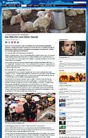 Zum Tagesschaubericht vom 13.12.15 über die Geflügelwirtschaft in Ghana