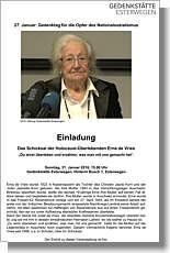 Flyer zur Veranstaltung in Esterwegen