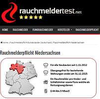 Zur Homepage von www.Rauchmeldertest.ne
