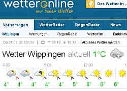 Zur Homepage von Wetteronline