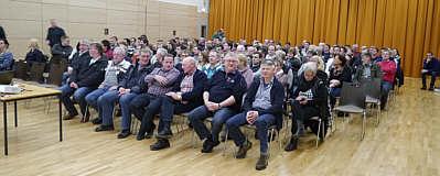 Blick in die Gemeindeversammlung