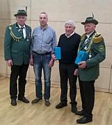 v.l.: Josef Speller, Antonius Peters, Heinz Hempen, Alex Ganseforth