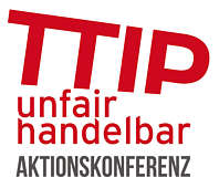 Logo TTIP unfairhandelbar