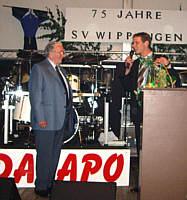 Heinrich Deters auf dem Festkommers am 18.08.2007