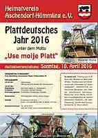Plakat des Kreisheimatvereins