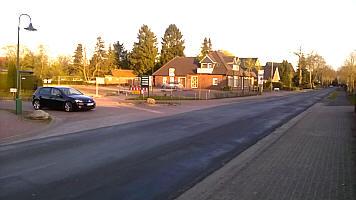 Der Platz des Dorfladens