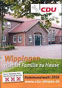 CDU-Wahlflyer Wippingen 2016