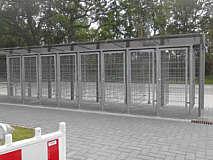Fahrradboxen am Bahnhof/ Foto: www.doerpen.de