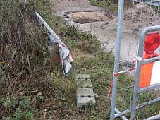 Baustelle Fleerbrücke