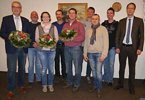 Der Gemeinderat nach der ersten Sitzung