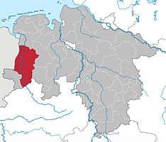Landkreis Emsland im Land Niedersachsen