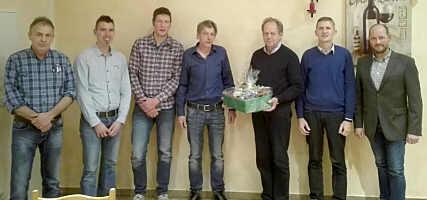 v.l.: Johann Frericks ,Christian Koers,Thomas Kuper, Wilhelm Borchers, Wilhelm Apke, Georg Brüning, Thomas Korte