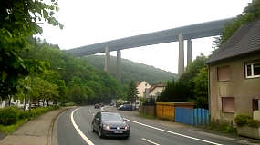 Autobahnbrücke der A45 in Lüdenscheid