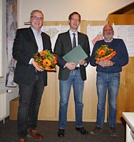 v.l.: Hermann Gerdes, Hermann Wocken, Johannes Kuper