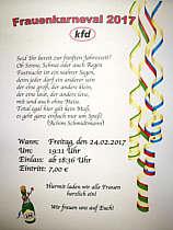 Einladung zum Karneval
