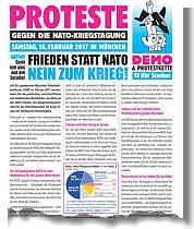 Aufruf zur Demo gegen die Münchener Sicherheitskonferenz