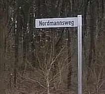 Straßenschild der Nordmannstraße