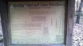 Grabhügelfeld am Windberg