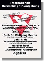 Plakat zum Gedenktag Tag der Befreiung