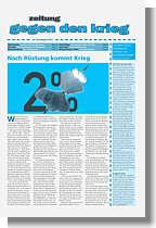Zeitung gegen den Krieg Nr. 40