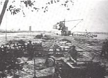 Bau des Seitenkanals bei Ahlen