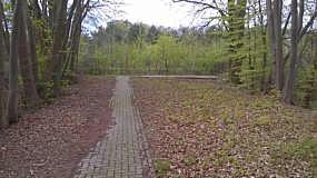 Seitenkanal östliches Widerlager als Aussichtsplattform der Transrapid