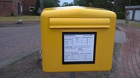 Briefkasten beim Dorfladen