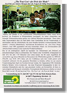 Flyer zur Veranstaltung der Grünen