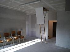 vorgesehener Raum für Jugendtreff