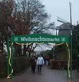 Eingang zum Wippinger Weihnachtsmarkt 2014