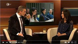 Zur Sendung Lanz mit Nadia Murad