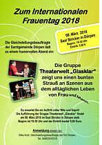 Einladung zur Veranstaltung zum Frauentag in Dörpen